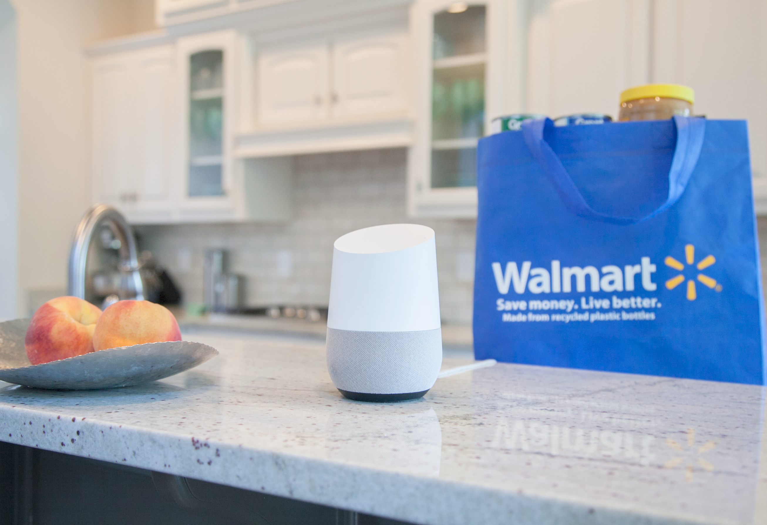 Seeking mutual benefits, Google & Walmart partner up